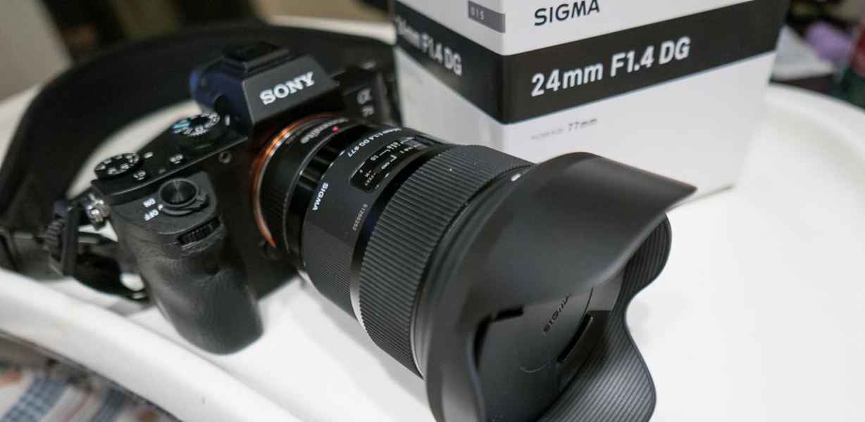 SIGMA 24 mm 1.4 ART on Sony A7II REVIEW