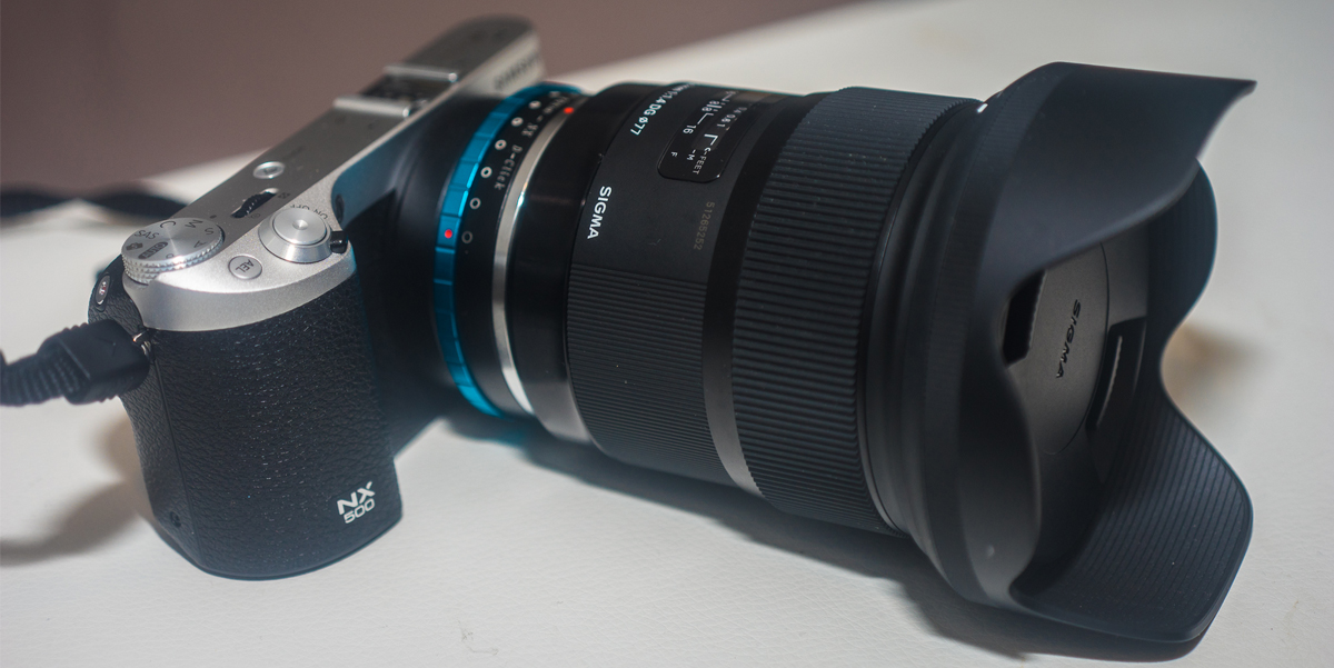 NX500 + SIGMA 24MM 1.4 REVIEW VIDEO