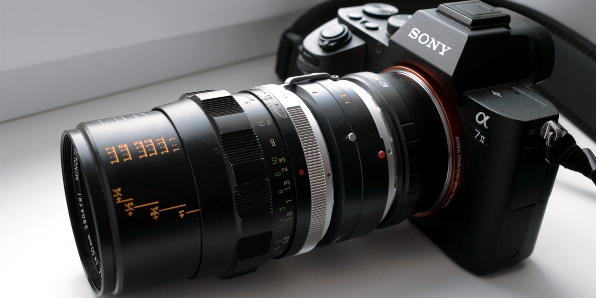 Minolta 50mm Macro Rokkor + Sony A7II Video REVIEW