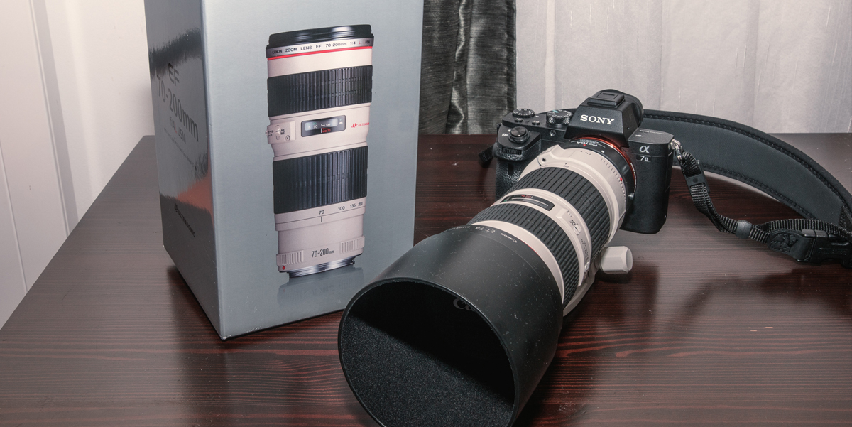 Canon 70-200 F4 L + Sony A7II REVIEW