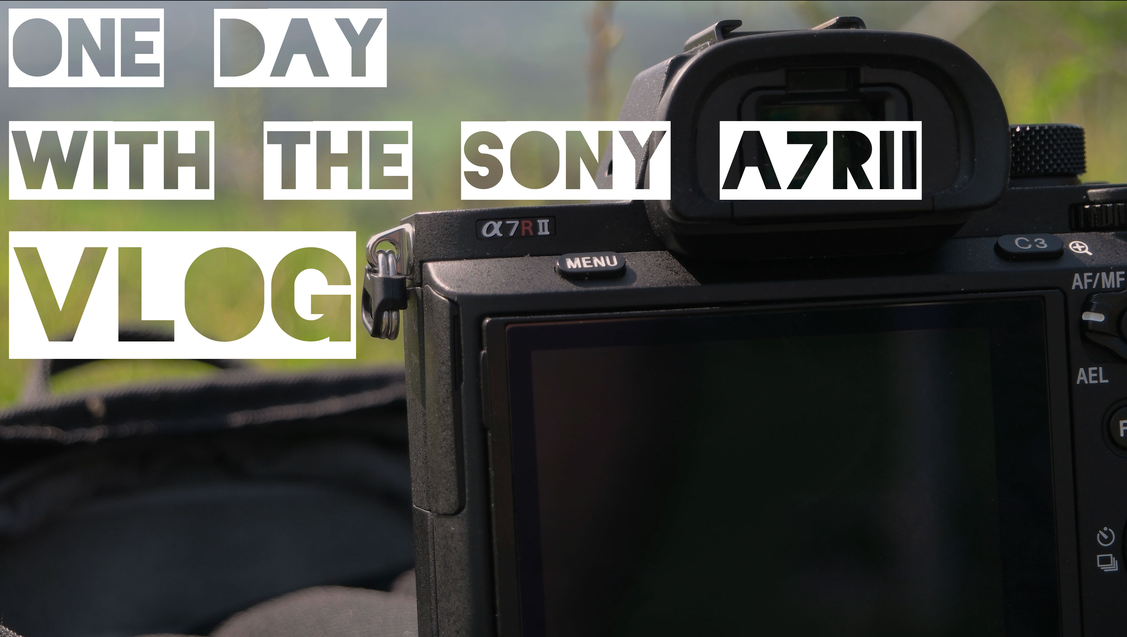 One Day with the Sony A7RII