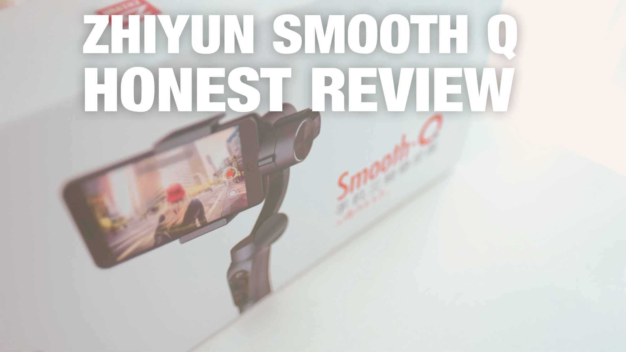Zhiyun Smooth Q Gimbal Video REVIEW