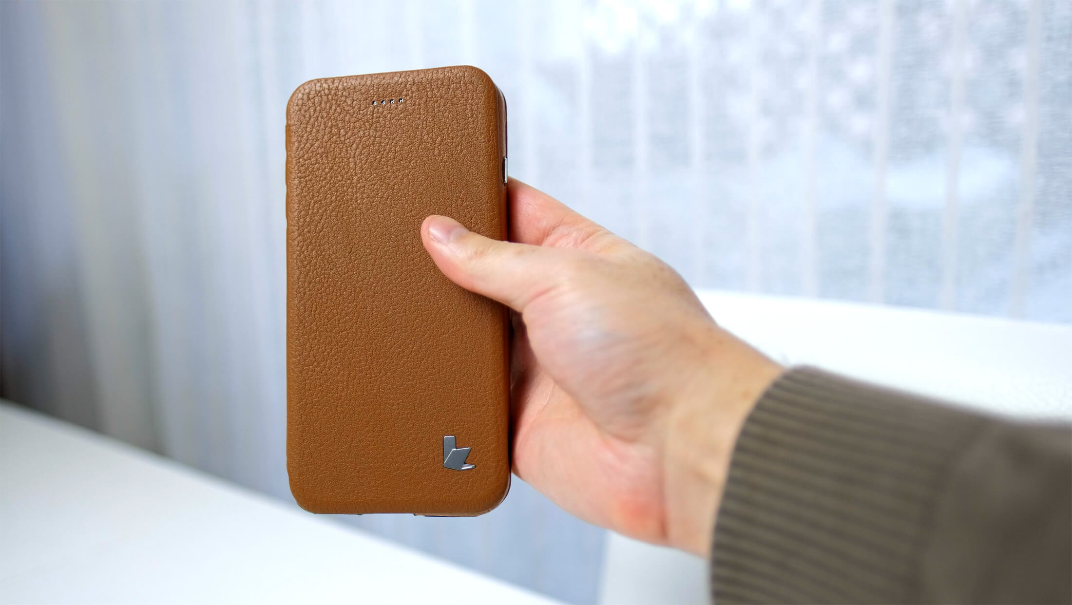 Jisoncase iPhone 7/8 Real Leather Case REVIEW